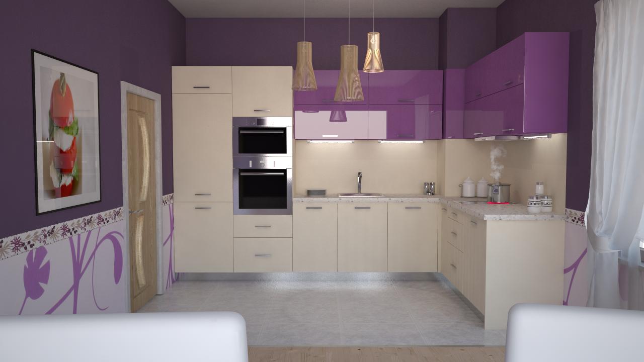 kitchen Lila | {Lila küche 3}