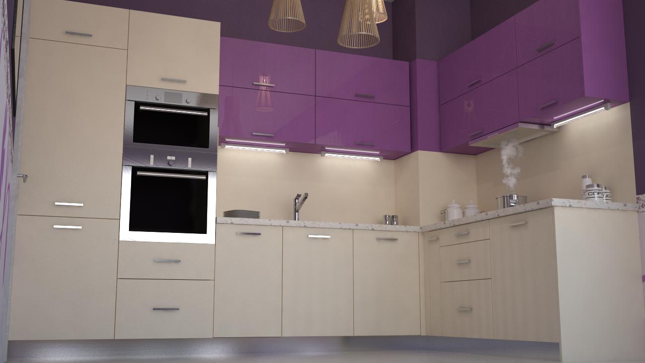 k che lila kreative ideen f r ihr zuhause design. Black Bedroom Furniture Sets. Home Design Ideas
